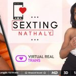 Virtualrealtrans presents Nathaly Miller in Sexting – 26.08.2017