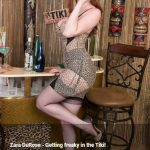 VintageFlash presents Zara Durose in Getting freaky in the Tiki! – 04.08.2017