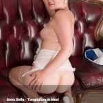 VintageFlash presents Anna Belle in Temptation in blue! – 08.08.2017