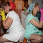 Tuttifrutti presents Cleaning ladys swinger orgy