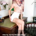 VintageFlash presents Chloe Toy in My dirty little office fantasy – 01.08.2017