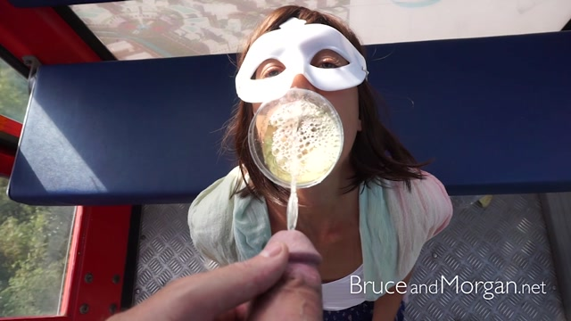 Watch Online Porn – BruceAndMorgan presents Bruce & Morgan in fun with urin in the cable car (MP4, FullHD, 1920×1080)