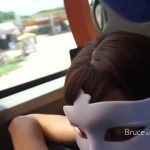 BruceAndMorgan presents Bruce & Morgan in piss drinking and blowjob in the bus