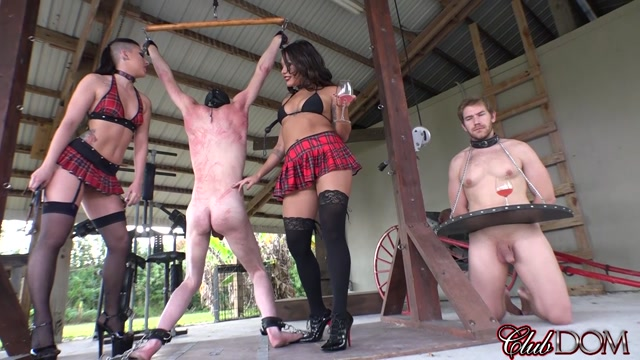 Watch Online Porn – Clubdom presents Mena Li, Mistress Rachael in Whipping Up Art‏ (MP4, HD, 1280×720)