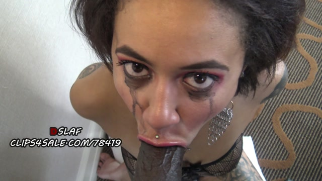 Redbone gives sloppy head with best dick sucking lips ever 4