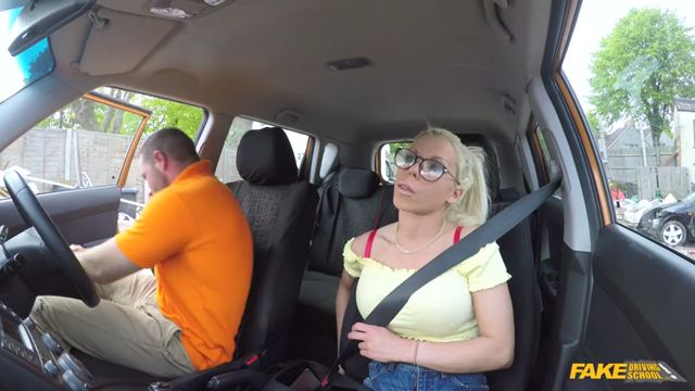 Watch Online Porn – FakeDrivingSchool presents Barbie Sins & Max Deeds in Hot sweaty sex with big tits blonde – 15.08.2017 (MP4, SD, 720×400)