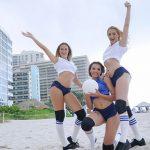 BFFS presents Sierra Nicole, Nicolette Love & Eve Ellewood in Volleyballin – 05.08.2017