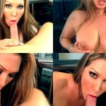 ManyVids Webcams Video presents Girl Jessica Loves Sex in 1ST Big Swallow Fantasy Fan BJ