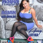Mature.nl presents Amy Latina (32) in Asian hairy housewife showing off her big tits – 06.09.2017