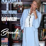 Mature.nl presents Brenda (51) in American housewife fingering herself in the study room – 14.09.2017
