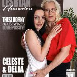 Mature.nl presents Celeste (50), Delia (35) in 2 mature lesbians sharing their pussies – 20.09.2017
