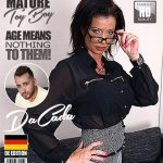 Mature.nl presents DaCada (42) in German housewife doing her toyboy – 06.09.2017