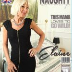 Mature.nl presents Elaine (EU) (60) in British housewife Elaine loves playing with herself – 15.09.2017