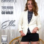 Mature.nl presents Ella (42) in horny housewife fingering herself – 18.09.2017