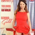 Mature.nl presents Gemma Gold (EU) (42) in British Gemma Gold playing with herself – 06.09.2017