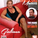 Mature.nl presents Giuliana (60) in chubby mature lady doing her toyboy – 09.09.2017