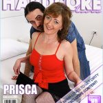 Mature.nl presents Prisca (48) in Horny housewife fucking and sucking – 06.09.2017