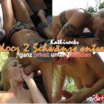 MyDirtyHobby presents KathiRocks – Outdoor 2 Schwanze entsaftet- Gganz privat unter Freunden – Outdoor 2 cocks juiced Completely private among friends