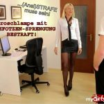 Mydirtyhobby presents Daynia – Anal ist Chefsache – Buro-Arschfotze aufgerissen – ANAL is a top priority! Office asshole ripped!