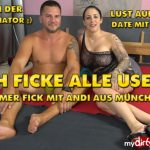 Mydirtyhobby presents QueenParis – Ich ficke alle User – Hammer Fick mit Andi aus München – I FUCK ALL USERS! Hammerfick with Andi from Munich