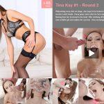 PremiumBukkake presents TINA KAY #1 – ROUND 2 – First Camera – 29.09.2017