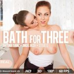 Virtualrealporn presents Antonia Sainz, Angel Rush, Steve Q in Bath For Three – 07.09.2017
