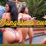 Virtualrealporn presents Sheila Ortega, Kesha Ortega, Tony Brooklyn in Dangerous Curves – 11.09.2017