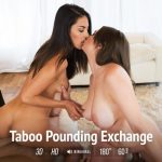 Virtualtaboo presents Carolina Abril, Miriam Prado in Taboo Pounding Exchange – 23.09.2017