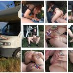 French-Bukkake presents Cathy Crown in Camping Car