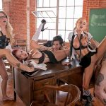 Wickedpictures presents Anna Bell Peaks, jessica drake, Lily Lane, Sarah Jessie in JESSICA DRAKE IS WICKED Scene 4 – 11.09.2017