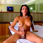 Brazilian-transsexuals presents Anaconda Strokes Her Big Cock! Remastered