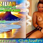 Brazilian-transsexuals presents Blonde Bombshell Bruna Gabanna Jacks Off! Remastered
