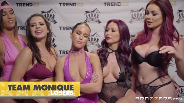 Watch Online Porn – Brazzers – ZZSeries presents Abella Danger, Alexis Fawx, Keisha Grey, Kelsi Monroe, Luna Star, Megan Rain, Monique Alexander, Nicole Aniston in Brazzers House 2: Day 2 – 11.09.2017 (MP4, SD, 854×480)