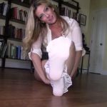 Goddess Gwen in Filly School Girl Sock Worship
