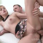 LegalPorno presents Ria Sunn 8it all – blonde slut DPed & swallowed 8 cumshots SZ1294 – 22.09.2017