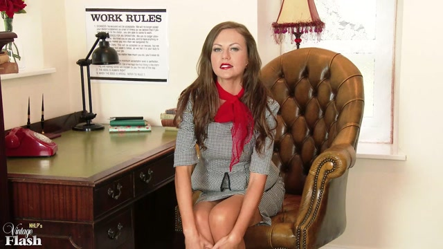 Watch Online Porn – VintageFlash presents Tina Kay in Wank for your boss! – 29.09.2017 (MP4, FullHD, 1920×1080)