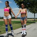 LittleCaprice-Dreams presents Little Caprice & Jenifer Jane in Roller Girls
