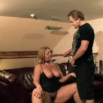 Fat Carmen spanking