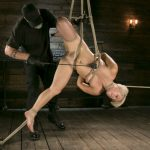 Hogtied presents Blonde Buff MILF Helena Locke Made to Cum in Tight Rope Bondage!! – 12.10.2017
