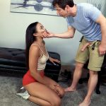 Lady Fyre Femdom presents Adriana Maya & Laz Fyre in Varsity Cheerleader Blackmail