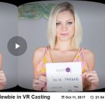Czechvrcasting presents Julia Parker in Czech VR Casting 097 – Porn Newbie in VR Casting – 11.10.2017