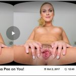 Czechvrfetish presents Vinna Reed in Czech VR Fetish 090 – Let Vinna Pee on You! – 02.10.2017