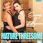 Mature.nl presents Alyona (35), Emmy (21) in horny old and young females sharing a cock – 04.10.2017