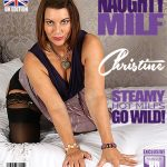 Mature.nl presents Christine O. (EU) (48) in British MILF Christine loves fooling around – 07.10.2017