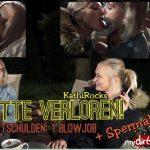 MyDirtyHobby presents KathiRocks – Blowjob an einen Wildfremden – Wette verloren – BLOWJOB to a lost bet