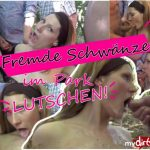 MyDirtyHobby presents bitchynikki – Bitchynikki lutscht einer Horde von fremden Manner die Schwanze – Bitchynikki sucks a bunch of strangers cocks
