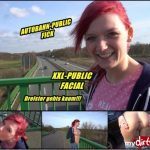Mydirtyhobby presents MarryFucks – Autobahn Public-Fick Dreister gehts nicht – HIGHWAY Public Fick. A bold as it gets!