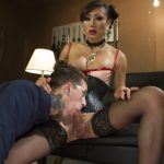 TSSeduction presents Sensual Domme Venus Lux Gets Worshiped and Fucks Her Obedient Slave – 17.10.2017