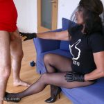 BallBustingChicks presents Black Widow in Dominant Harassments!