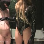 BallbustingChicks presents Isabella in Brutal Punishment In The Bathroom